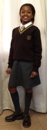 Girls Winter Uniform